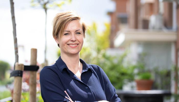 Brenda, teamleider relatiebeheer bij Particulieren