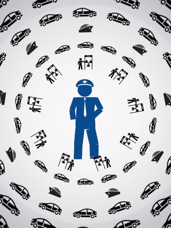 Illustratie over dat douanewerk meer is dan koffers controleren