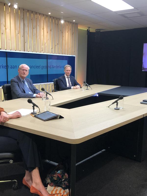 Sprekers webinar 'Samen werken aan een financieel gezond Nederland'