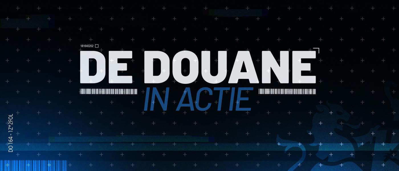 De Douane in actie