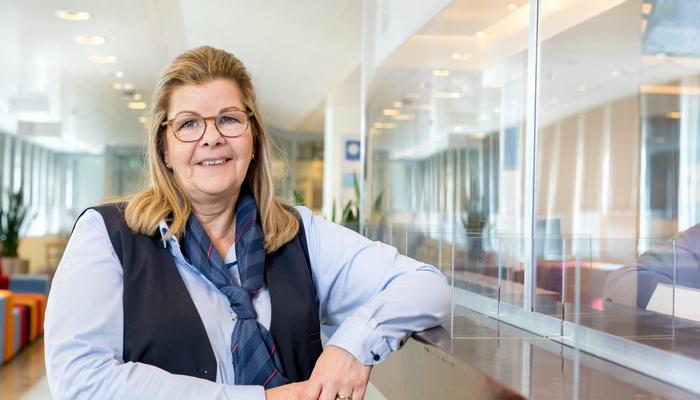 Wendy Kiburg, servicemedewerker