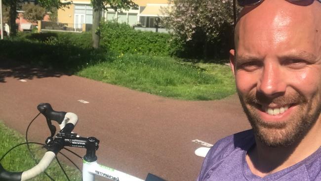 Ontspannen op de fiet
