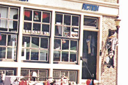 Foto der ersten Action Filiale in Enkhuizen