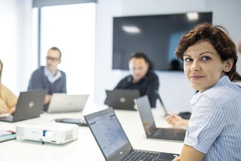 Zdjęcie pracownika Action na spotkaniu