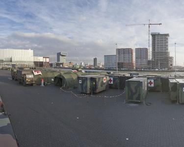 Veldhospitaal in Rotterdam