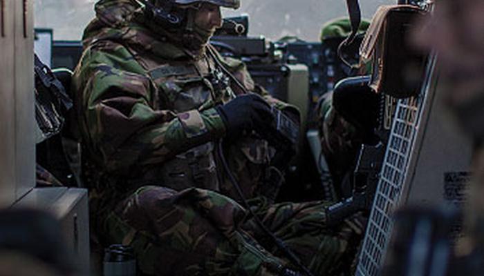 13 Lichte Brigade infanterist
