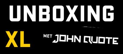 Unboxing XL met John Quote